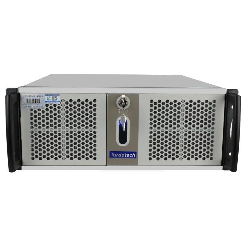 4U高性能工控机服务器710S (8611)12个USB并口3PCI-E工业控制设备应用